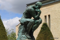 The Thinker,  Rodin Museum, Paris