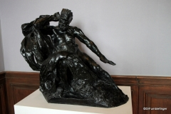 Monument to Victor Hugo.   Rodin Museum, Paris