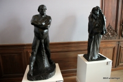 Balzac models.   Rodin Museum, Paris