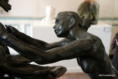 The Age of Maturity by Claudel Camille.  Rodin Museum, Paris