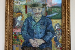 Van Gogh.  Portrait of Pere Tanguy.  Rodi8n Museum, Paris