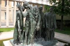 Burghers of Calais, Rodin Museum, Paris
