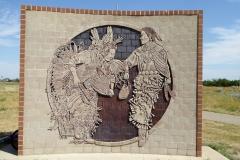 Display adjoining the Saamis TeePee, Lethbridge