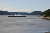 Ferry crossing Saguenay Fjord