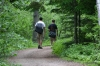 Bryan & Evan hiking in Saguenay