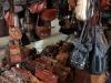 Leather vendor, San Telmo Market