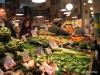 Seattle's Pike Market vegetable vendor