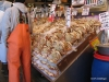 Seattle's Pike Market, crabs display