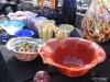 Seattle's Pike Market, glassware vendor