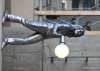 Seattle waterfront, unusual lamp