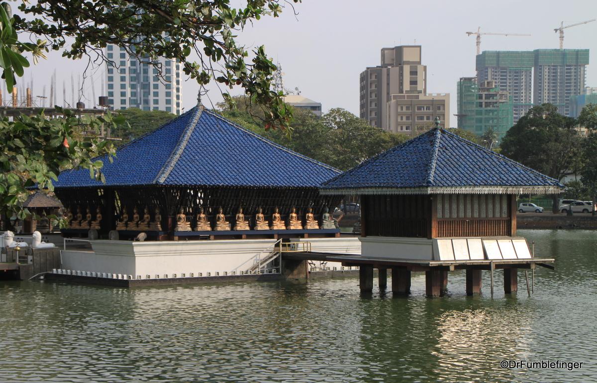 Seema Malaka Temple, Beira Lake, Colombo