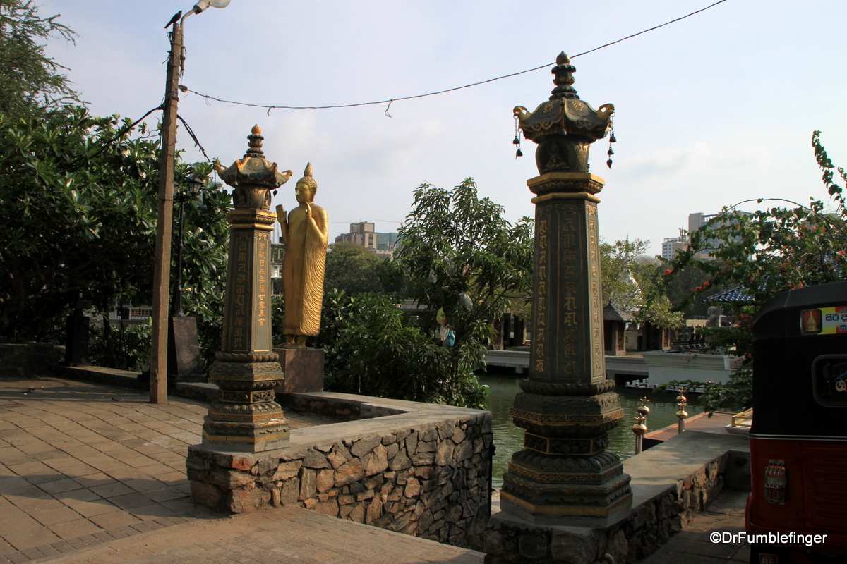 Entrance to Seema Malaka Temple, Colombo