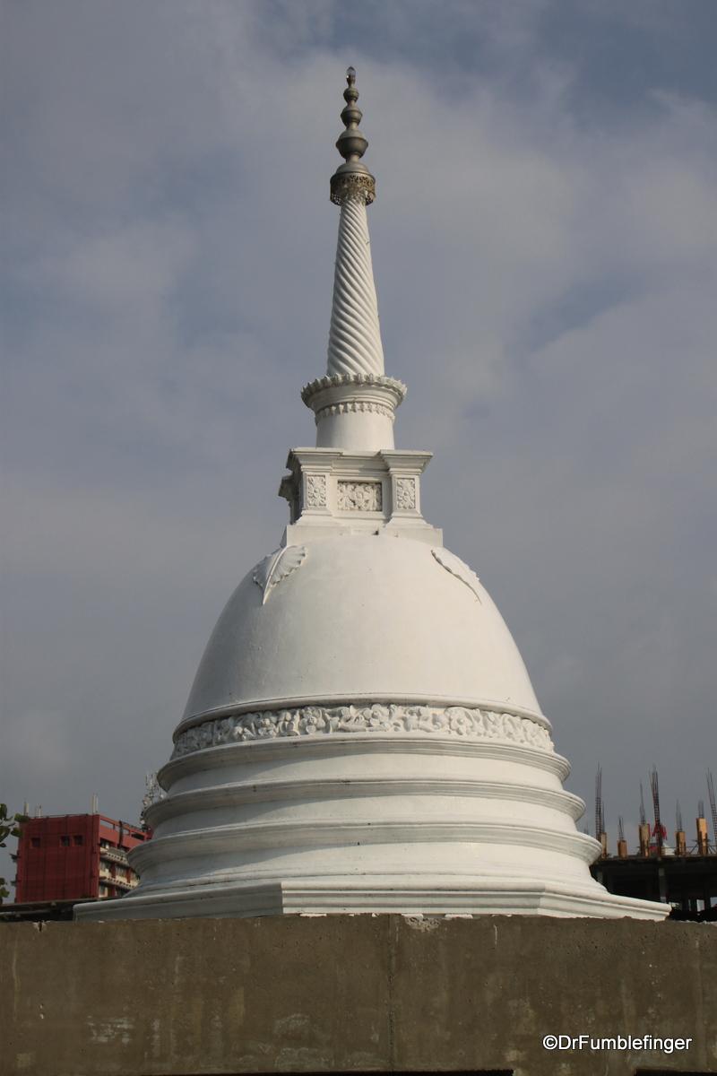Stupa, Seema Malaka Temple, Colombo