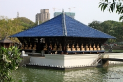 Seema Malaka Temple, Beira Lake, Colombo