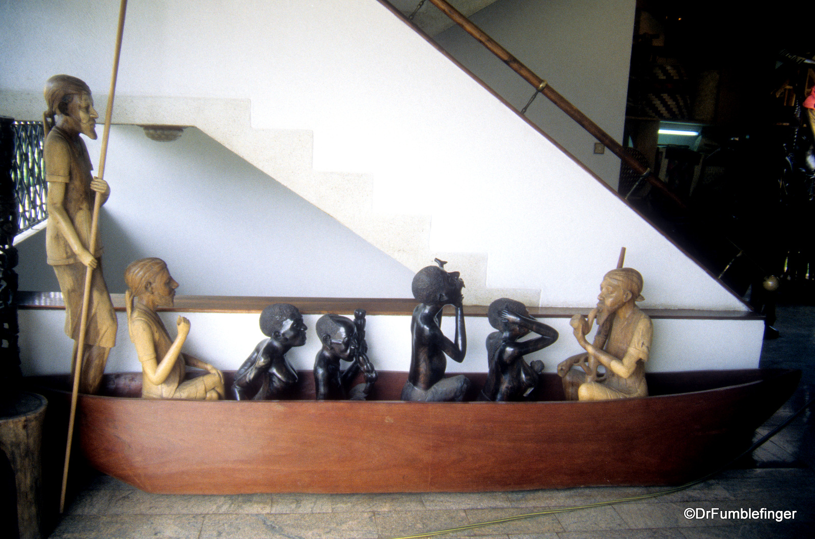 Carvings at Cultural Heritage Center