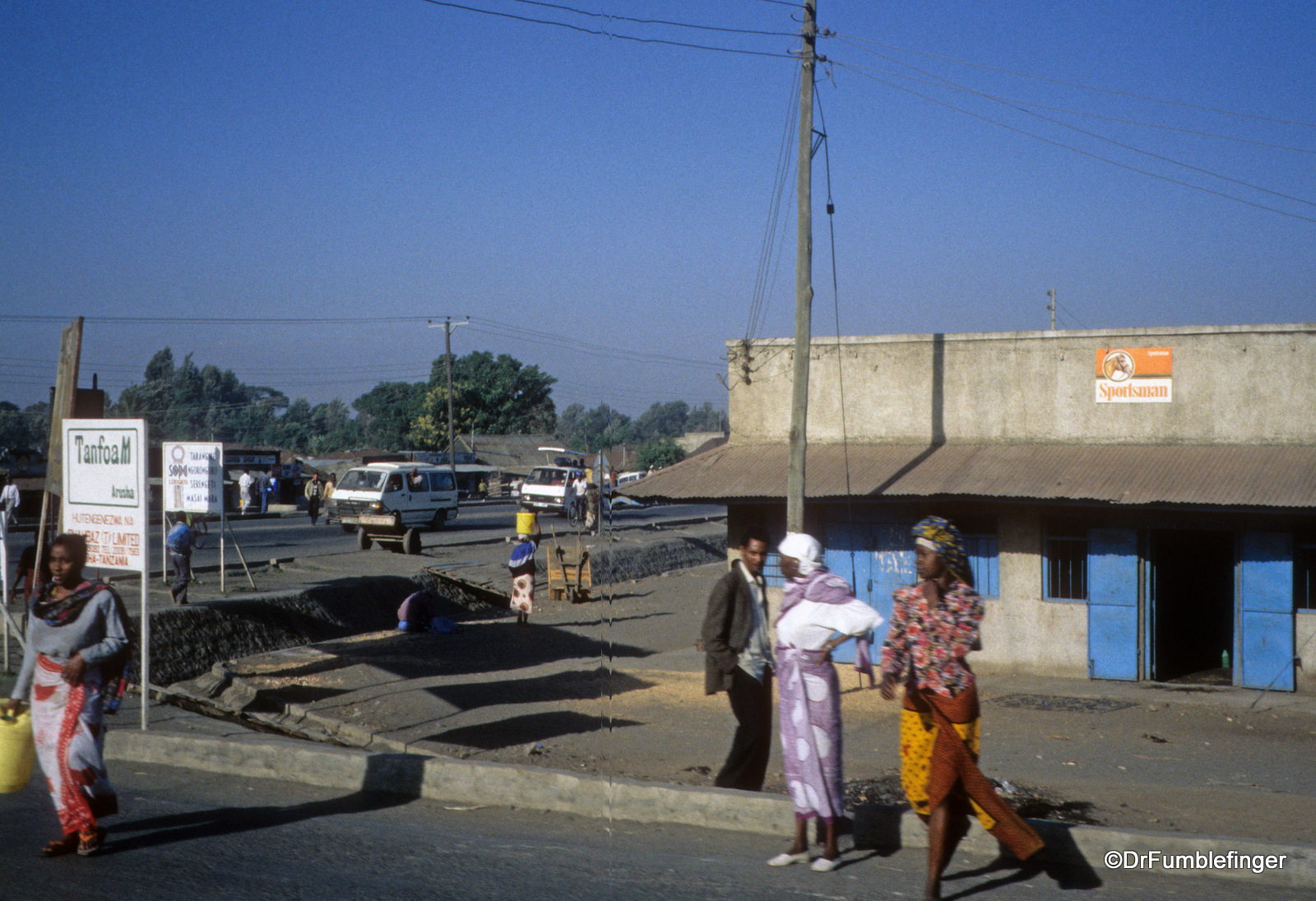 Arusha street scene