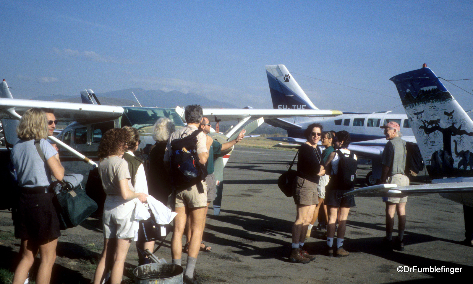 Getting ready to depart Arusha for Serengeti National Park