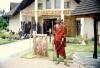 Arusha, Cultural Heritage Center & Masai warrior