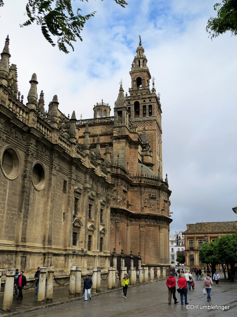 Exterior, Seville Cathedral