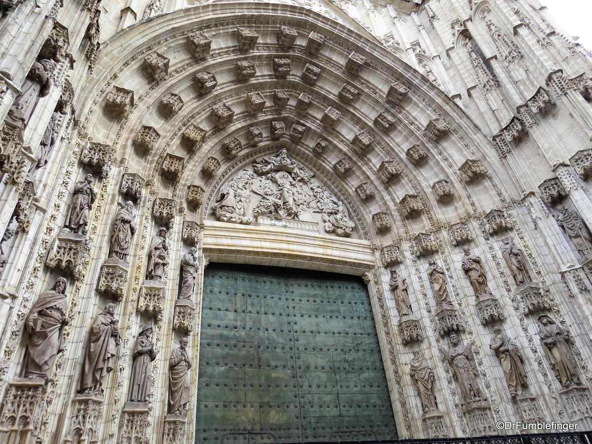 Exterior details, Seville Cathedral