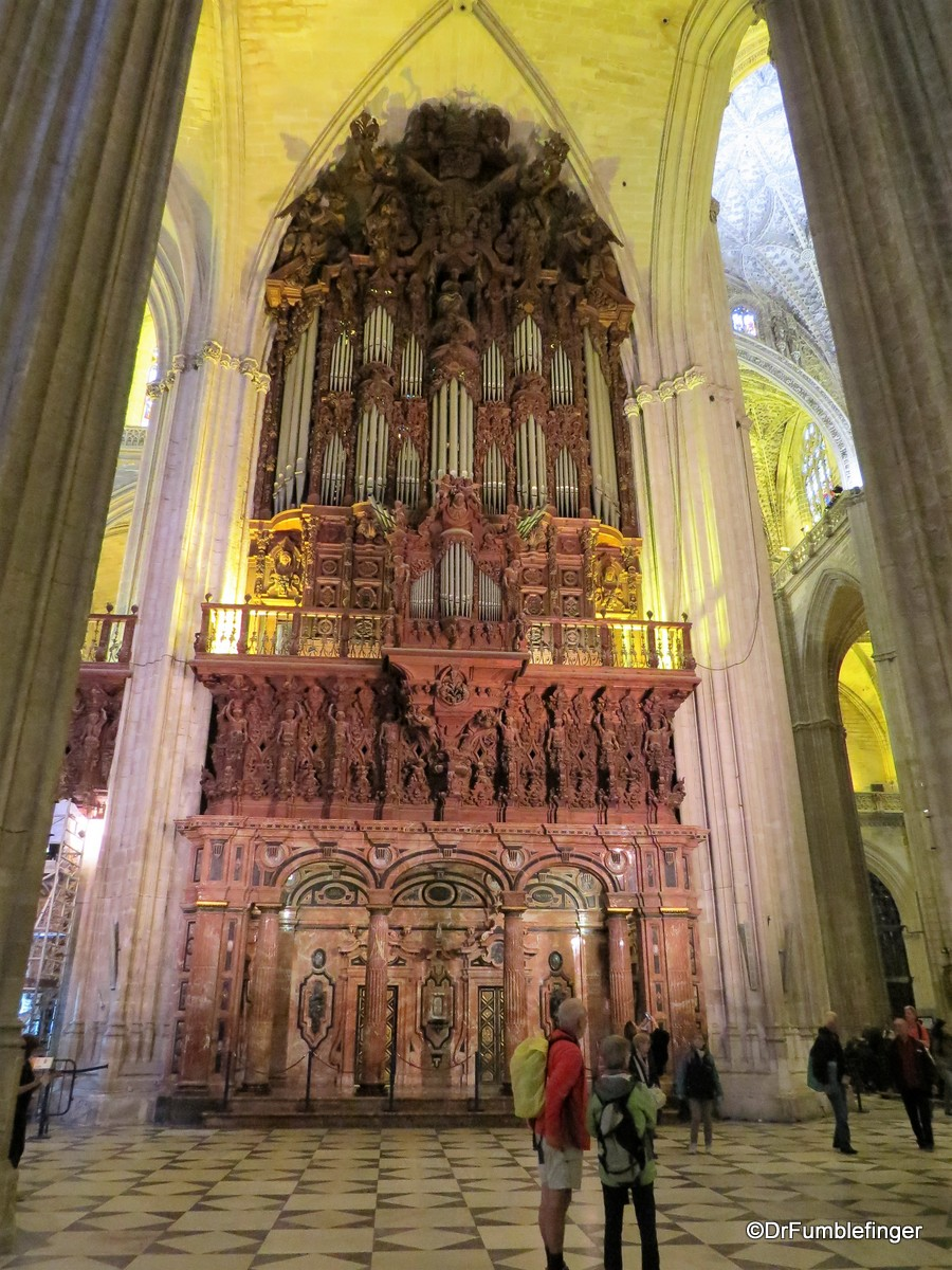 Pipe organ, Seville Cathedral