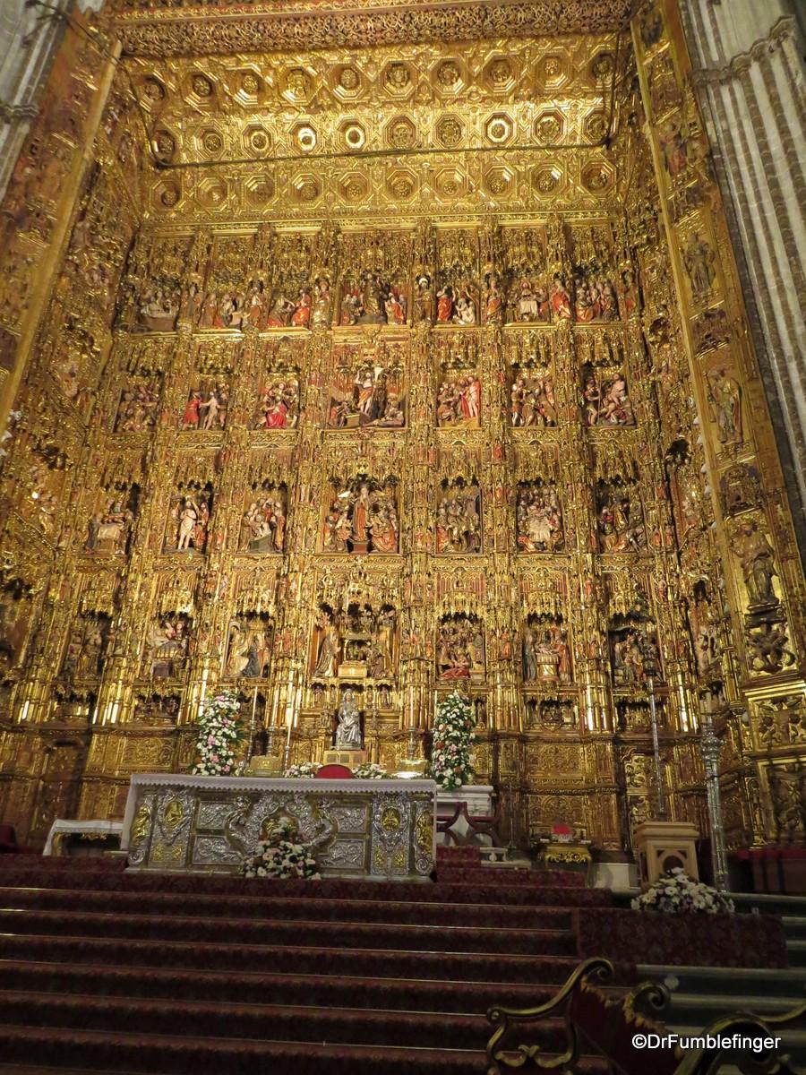 Gothic retablo (High Altar), Seville Cathedral