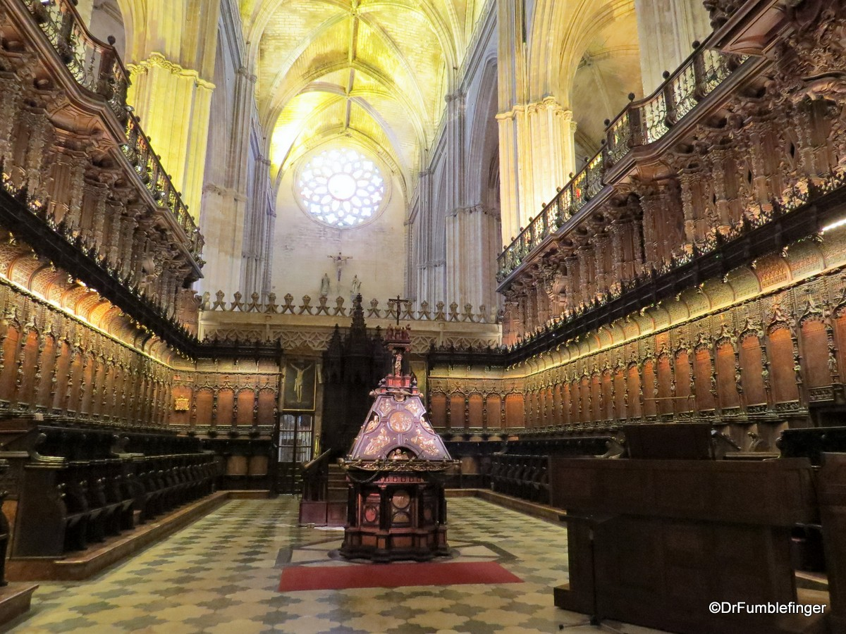 The Choir, Seville Cathedral