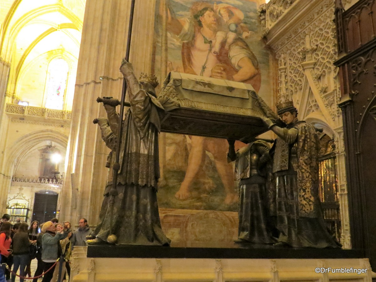 Christopher Columbus' tomb, Seville Cathedral