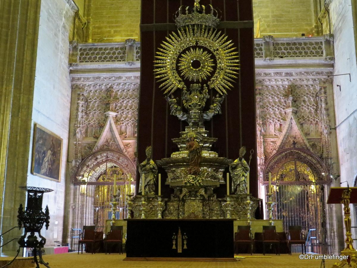 Altar de Plata, Seville Cathedral