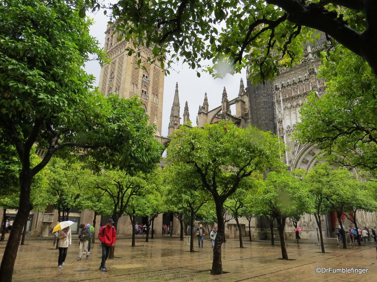 Patio de los Naranjos, Seville Cathedral
