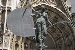 Copy of weathervane (Giraldillo), Seville Cathedral