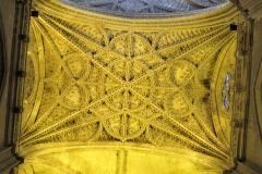Ceiling details, Seville Cathedral