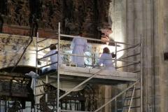Restoration work, Seville Cathedral