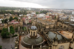 Views from belltower, Seville Cathedral
