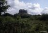 Sigiriya viewed at a distance