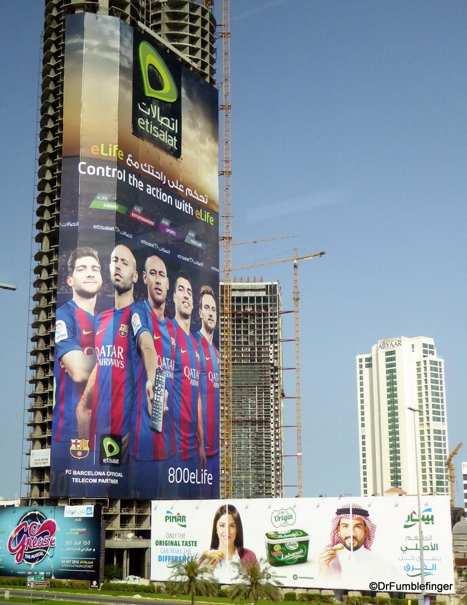 Signs of Dubai