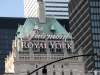 The elegant Royal York hotel, the oldest of Toronto's upscale hotels