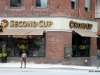 Signs of Toronto. Second Cup is a popular coffeehouse in Canada