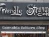 Signs of Toronto, Queen Street. Friendly Stranger