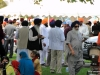 A gathering of Sikh people and friends