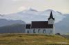 Ingjaldsholl church and Snaefellsjokull
