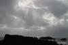 Dryholaey, black lava and the Atlantic Ocean