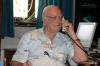 Sir Arthur on a phone call