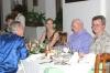 Sir Arthur having dinner with friends