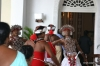 Colombo, wedding dancers at Galle Face
