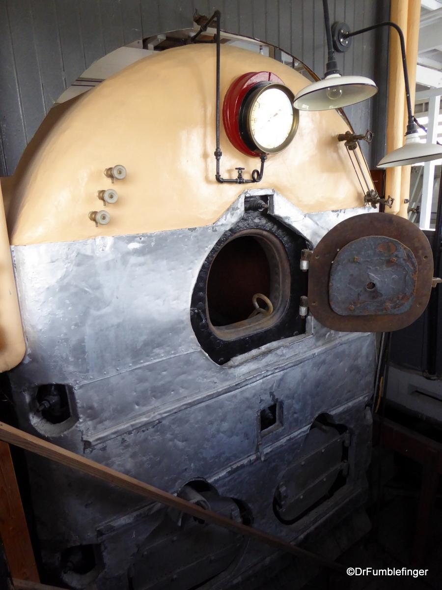 SS Klondike Whitehorse, boiler