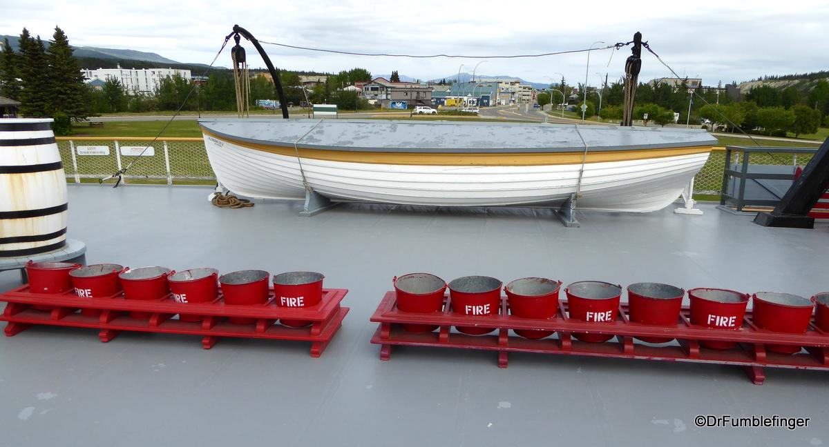 SS Klondike Whitehorse, lifeboat