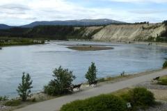 SS Klondike Whitehorse, views of the Yukon River
