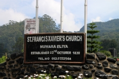 St, Francis Xavier Church. Nuwara Eliya