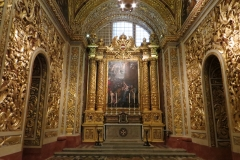 St John's Co-Cathedral, Valleta. Chapel of Germany